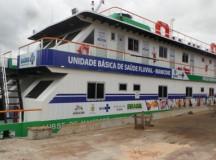 Ministro da Saúde inaugura UBS Fluvial em Manicoré,no AM
