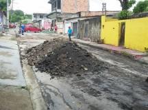 Mutirão de obras chega nas ruas do Núcleo 16 na Cidade Nova