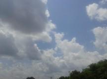 Nesta segunda-feira (17), Norte do País tem tempo parcialmente nublado