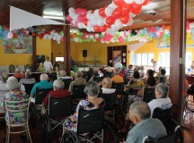 MANAUS/AM - 29-07-15  Idosos e colaboradores da FDT ganharão homenagem especial ao dia dos pais. FOTO: ASSESSORIA FUNDAÇÃO DR. THOMAS.