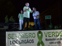José Melo destaca a expansão do programa estadual de transplantes durante lançamento do 'Setembro Verde', no AM