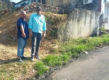 Vereador Joelson Silva, realiza fiscalização no bairro do São Jorge, em Manaus