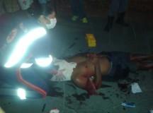 VIOLÊNCIA: Chapéu de Zinco do Núcleo 16 palco de tiroteio e linchamento na noite deste domingo(20),na Zona Norte de Manaus