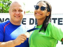 Nadadora amazonense Luisa Marillac conquista vaga para Campeonato Mundial de Aquathlon