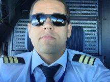 Piloto brasileiro Leonardo Salgado