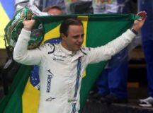 Felipe Massa chora em sua despedida do GP Brasil de Fórmula 1