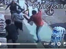 Homem é atingido com voadora, após fugir da polícia em Manacapuru,no AM