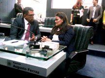 Vereadora Diana Guedes de Autazes agradece Augusto Ferraz por emendas orçamentárias