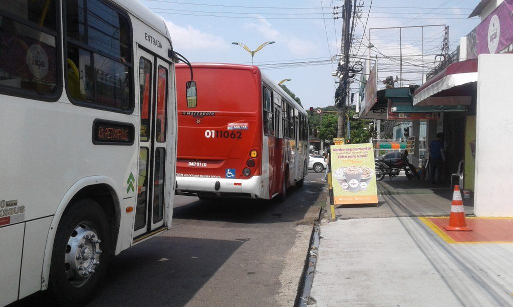 Devido decreto, prefeitura reduz circulação de ônibus coletivos em Manaus