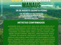 SOS Amazônia: Artistas Cantam em defesa da Floresta na próxima quarta-feira (28/08)