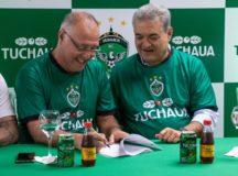 Grupo Simões anuncia patrocínio entre a marca de refrigerantes Tuchaua e o Manaus FC
