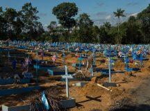 A capital do Amazonas registra mais de 5 mil sepultamentos durante pandemia de Covid-19