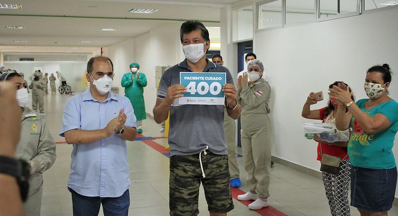 COVID-19: Hospital de campanha municipal da prefeitura de Manaus ultrapassa 400 altas médicas