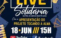 Orquestra Popular do Abrigo Moacyr Alves promove Live Solidária