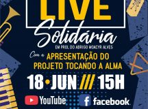 Orquestra Popular do Abrigo Moacyr Alves promove Live Solidária