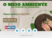 Fametro promove programação em comemoração ao Dia Mundial do Meio Ambiente