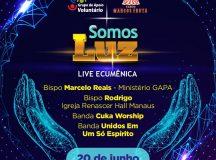 Live Ecumênica promove show de fé e solidariedade para ajudar famílias carentes afetadas pela pandemia