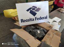 Receita Federal no Aeroporto de Manaus retém mercadorias que sairiam irregularmente da Zona Franca de Manaus