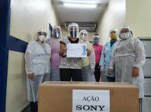 Sony doa 500 viseiras de proteção para hospitais em Manaus