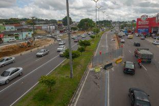 Prefeitura de Manaus alerta para intervenções viárias em obras de estações de transferência