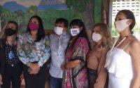 INDT e Lady's Mall doam 5 mil máscaras e álcool gel para entidade de apoio às populações indígenas