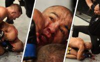 UFC 251: José Aldo toma surra com 62 golpes fortes no rosto em 3 minutos e faz outro juiz ser detonado