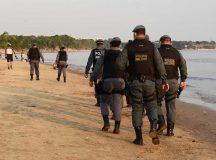 Em Manaus, Ponta Negra tem fim de semana de praia vazia em cumprimento a decreto de nova interdição