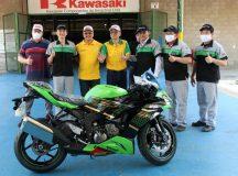 Coronel Menezes visita fábrica Kawasaki no Polo Industrial de Manaus (PIM)