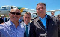 Bolsonaro elogia candidato à prefeito de Manaus do Patriota, o Coronel Menezes