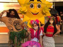 Manaus Plaza Shopping recebe personagens infantis para interagir com as crianças neste final de semana