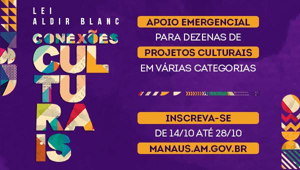 Inscrições para editais de cultura da Lei Aldir Blanc encerram na próxima quarta
