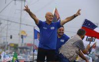 ELEIÇÃO 2020: Coronel Menezes faz carreata debaixo de chuva e reúne mais de 600 veículos