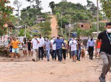Prefeito David Almeida anuncia obras de infraestrutura na comunidade Itaporanga em Manaus