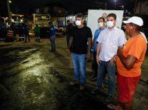 Em Manaus, Bairro União começa a receber pavimentação asfáltica após 41 anos de espera