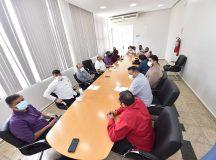 SAÚDE: David Almeida reforça medidas preventivas contra a Covid-19, em reunião com líderes evangélicos