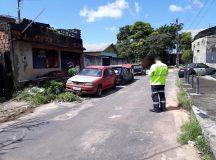 Operação do IMMU retira oito carros abandonados nas ruas da zona Oeste de Manaus