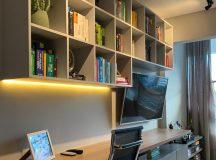 Trabalho híbrido? Aprenda a unir sala de estar e home office de forma elegante