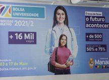 Prefeito David Almeida lança edital do programa 'Bolsa Universidade' com recorde de vagas integrais