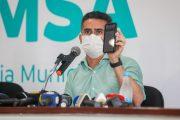 Prefeito David Almeida irá solicitar a inclusão dos jornalistas, garis, agentes de trânsito e do transporte no grupo prioritário da vacinação contra a Covid-19