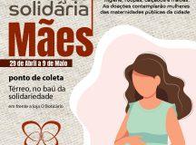 Manaus Plaza Shopping arrecada alimentos para mulheres grávidas e chefes de família