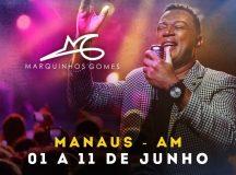 Cantor gospel Marquinhos Gomes anuncia realização de turnê no Amazonas em junho