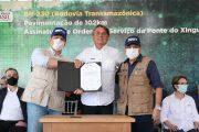 Presidente Bolsonaro inaugura 102 km de asfalto em trecho da Transamazônica