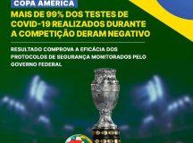 COPA AMÉRICA: Brasil ofereceu ambiente seguro para o maior torneio do continente