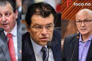 JOGO ABERTO: Senador Eduardo Braga vem candidato ao governo do estado, Senador Omar Aziz deve tentar a reeleição e Menezes está em franca ascensão