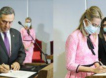 Maria Claudia Bucchianeri toma posse como ministra substituta do TSE