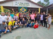 Coronel Menezes retorna a Manaus após quatro dias de viagem pelo Rio Madeira, no AM