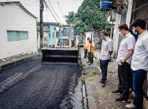 Prefeitura inicia mutirão de infraestrutura para revitalizar ruas do bairro Chapada em Manaus