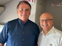 Coronel Menezes participa de inauguração da termelétrica com presidente Bolsonaro em Boa Vista