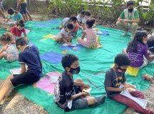 Programação ambiental foi destaque no Dia das Crianças em Manaus