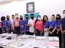 Prefeitura de Manaus realiza mais uma edição do projeto 'Um aluno no gabinete'